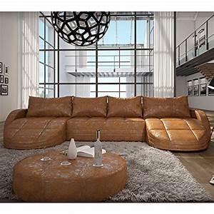 Couch U Form Xxl : wohnlandschaft braun leder ~ Bigdaddyawards.com Haus und Dekorationen