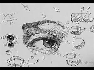 Pen Ink Drawing Tutorials | How to draw a realistic eye ...