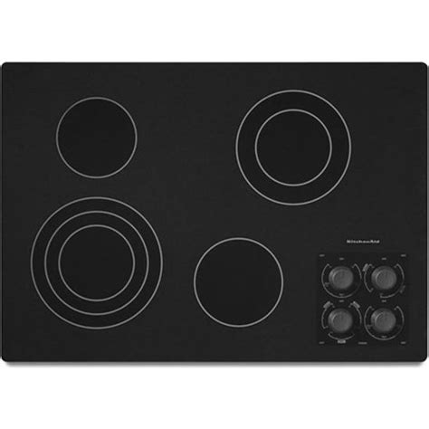 "KitchenAid KECC506RBL 30"" Electric Cooktop"