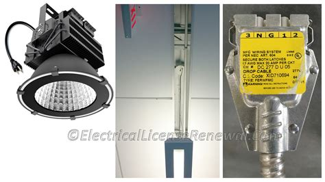 410.62(c) Electric-discharge And Led Luminaires