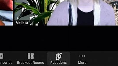 Reactions Filters Emojis Meetings Features Lighting Button