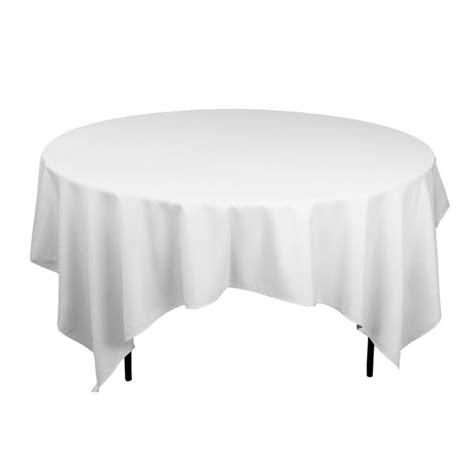 nappe carree sur table ronde location nappe carr blanche 240 x 240 cm pour table ronde 150 180cm