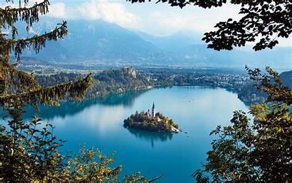 Villages European Slovenia Fairy Tale Places Bled
