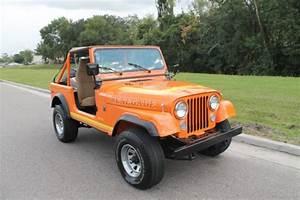 Fl Jeep Cj7 Restored Low Miles Original 56k Miles Rust