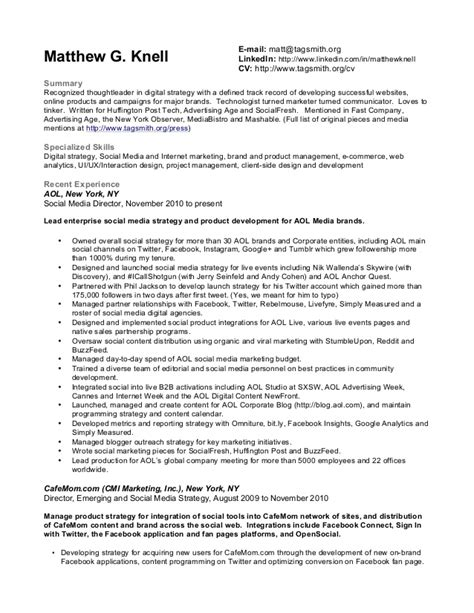 Patent Attorney Curriculum Vitae by Matthew Knell Resume