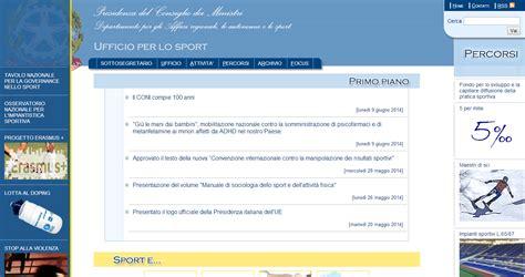 Sito Consiglio Dei Ministri by Gi 249 Lemanidaibambini Sul Sito Governo Gi 249 Le