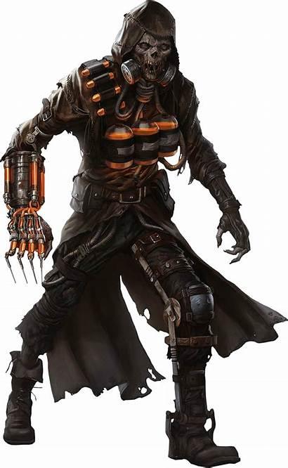 Scarecrow Deviantart Transparent Batman Gotham Arkham Davidbksandrade