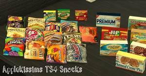 Applekissims TS4 Snacks YourDorkBrains