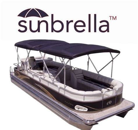 Pontoon Boats Bimini Tops by Sunbrella Pontoon Boat Bimini Tops