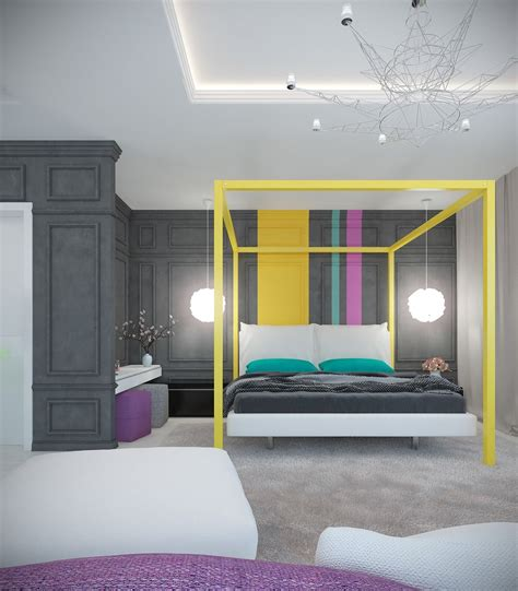 A Pair Of Modern Homes With Distinctively Bright Color Themes by A Pair Of Modern Homes With Distinctively Bright Color