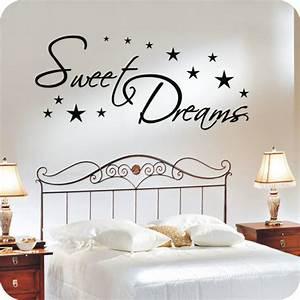 Wandtattoo Sweet Dreams : wandtattoo sweet dreams wandtattoo schlafzimmer ~ Whattoseeinmadrid.com Haus und Dekorationen