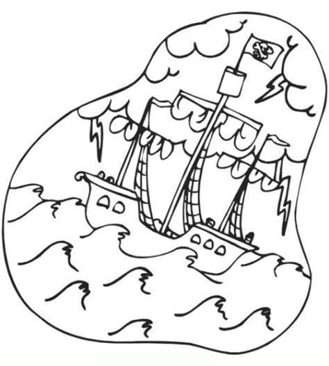 schoene ausmalbilder malvorlagen piratenschiff ausdrucken