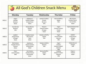 childcare lunch menu google search meals for the day With child care menu template