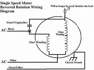 repair tip quothow to reverse the rotation ofquot fixya With rotation single phase motor on 3 phase motor wiring diagram 9 wire