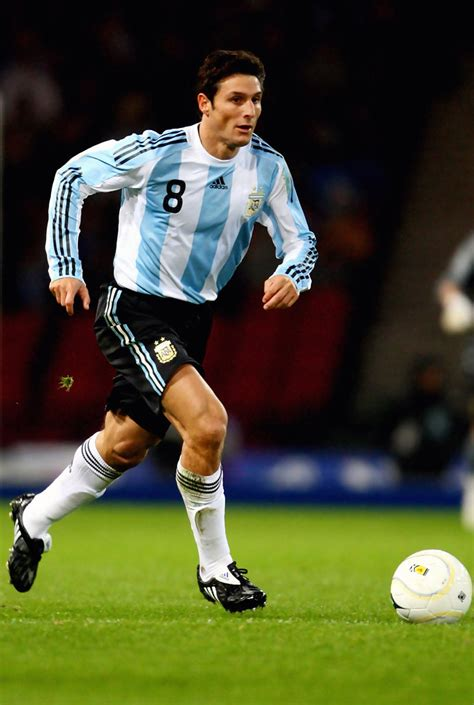 Javier Zanetti - Javier Zanetti Photos - Scotland v ...