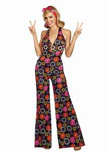 groovy baby women39s jumpsuit With robe disco femme