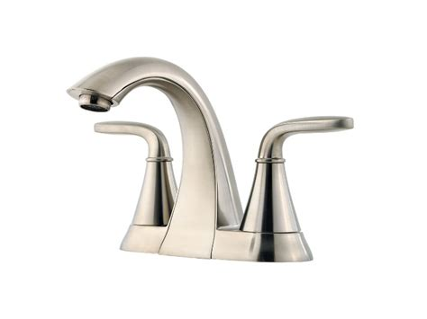 Pfister Pasadena Faucet Leaking by Pfister Pasadena Centerset Bath Faucet Brushed Nickel