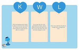 Kwl Chart Example With A Simple Style
