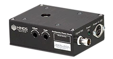 Avalanche Photodiode Detectors Hinds Instruments