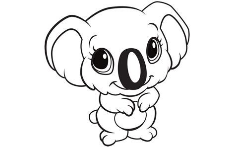 Best Of Cute Cartoon Animals Coloring Pages Gallery ...