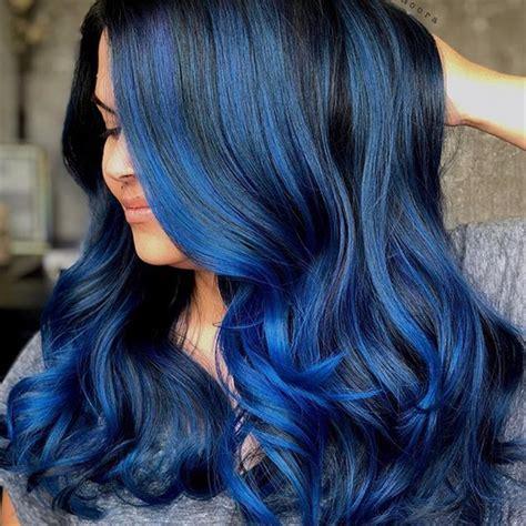 midnight black color midnight blue how to hair color modern salon