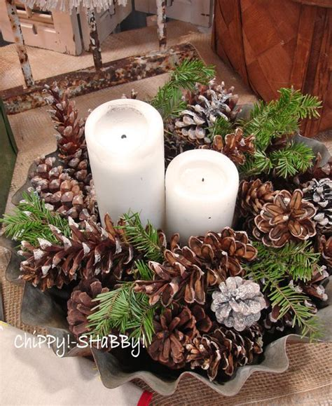 pine cone christmas table decorations simple centerpieces centerpieces and table centerpieces