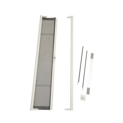odl retractable screen door odl brisa premium retractable screen kit for 80 in