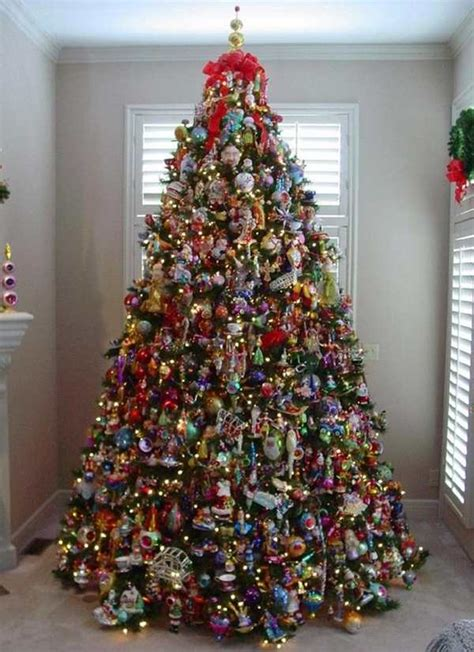 decorated christmas trees ideas pictures reference
