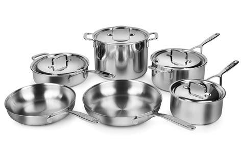 demeyere cookware set  ply  stainless steel  piece cutlery