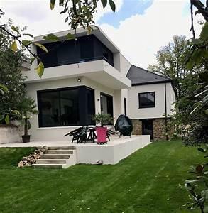 Photos Agrandissement Maison : agrandissement de maison chelles extension et am nagement ~ Melissatoandfro.com Idées de Décoration