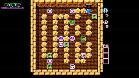 Adventures Of Lolo Walkthrough [floor 3-4]
