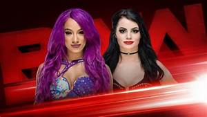Paige Vs Sasha Banks Added To WWE RAW NXT Listed On USA