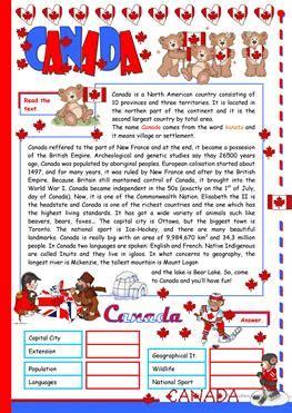 esl canada worksheets