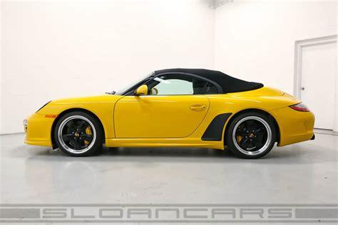 Porsche Speedster Pts Speed Yellow Miles