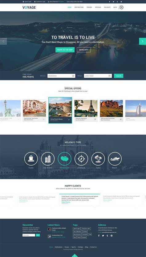 travel website template psd graphic design travel