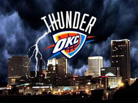 Okc Thunder Background Okc Playoff Oklahoma City Thunder Wallpaper Hd Wallpapers