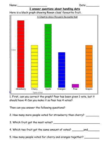 ks  handling data mini test  robburnett teaching