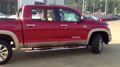 toyota tundra crewmax limited   tone package