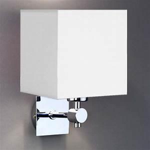 Lampenschirm Glas Weiß : wandleuchte wall ter eckig lampenschirm wei laprodi ~ Lateststills.com Haus und Dekorationen