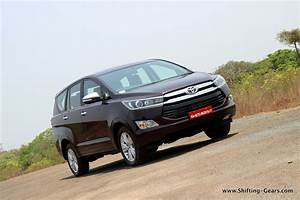 Toyota Innova CrystaTest Drive Review Shifting Gears