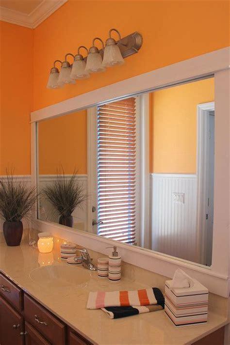Orange Bathroom Wall Decor by Orange Bathroom Decor Orange Bathrooms