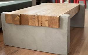 Wohnzimmertisch Selber Bauen : masstisch15 couchtisch holz beton mintisch ~ Frokenaadalensverden.com Haus und Dekorationen