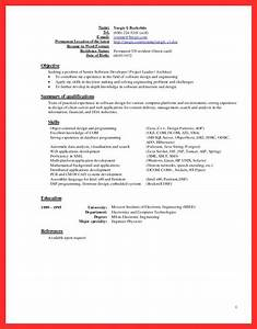 latest resume sample good resume format With current resume format