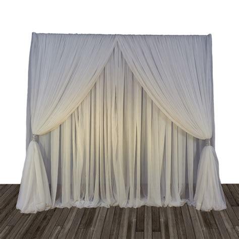 criss cross curtain backdrops search trade