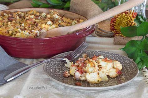 Cauliflower Au Gratin Low Carb Primal The Perfect Keto