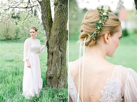 Romantic Vintage Wedding Inspiration With A Fairytale