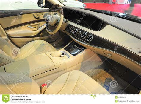 int 233 rieur luxueux de limousine photo libre de droits image 34396015