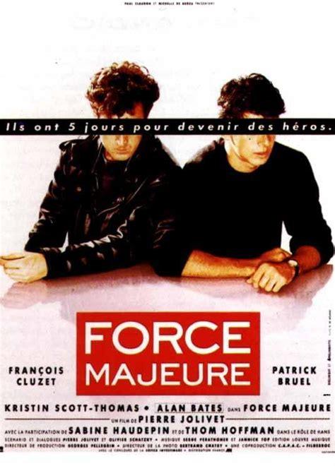 Fuerza mayor (1989) FilmAffinity