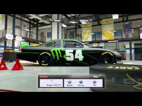 Nascar The Game Inside Line Custom Monster Energy Car