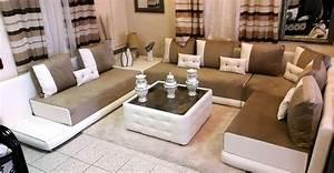 Salon Oriental Moderne : charmant salon marocain moderne photos et accueil salon marhaba marocain 2017 images ~ Preciouscoupons.com Idées de Décoration
